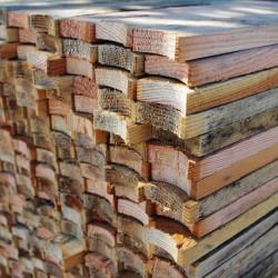 1X3 12ft Douglas Fir Notched Tree Prop