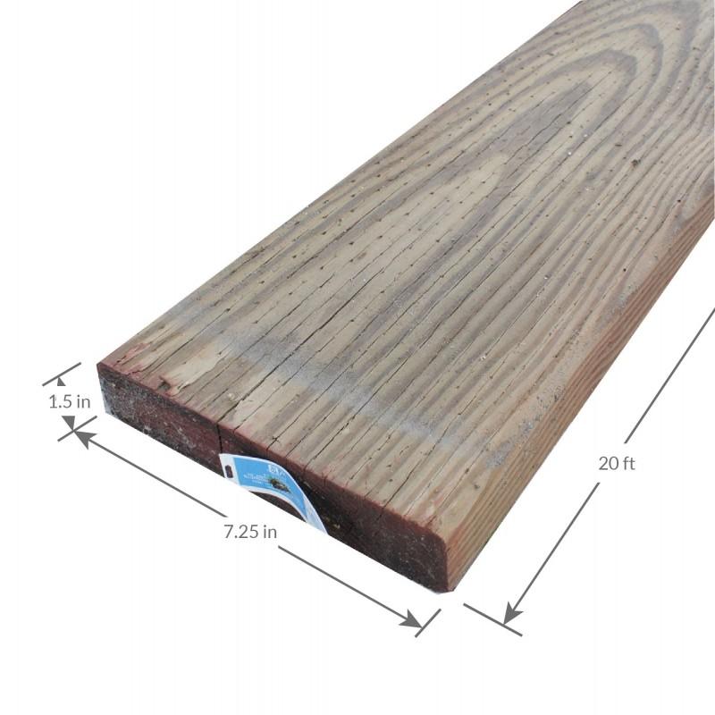 2x8 20 Douglas Fir 2 And Better Ca C Pressure Treated Close Lumber Corning Lumber