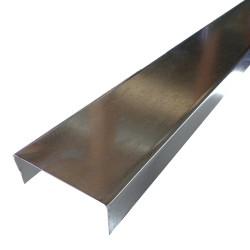 3-5/8 x 10-ft Structural Steel Track 20-gauge