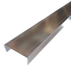 3-5/8 x 10-ft Drywall Steel Track 20-gauge
