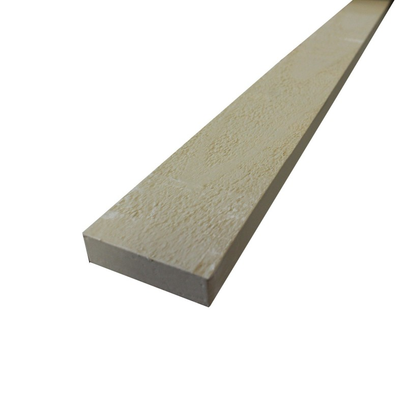 1x3 16 39 finger jointed s1s2e advantage primed pine close for Finger joint wood doors