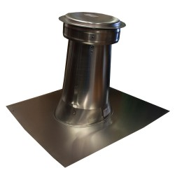 "6"" Round Aluminium Roof Safe Vent with Cap"