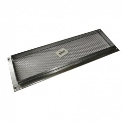 14x4in Galvanized Foundation or Soffit Vent - V23