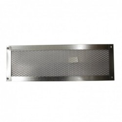 14X4in Galvanized Foundation or Soffit Vent Flat - V23F