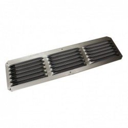 16x4in Aluminum Louver Screen Vent