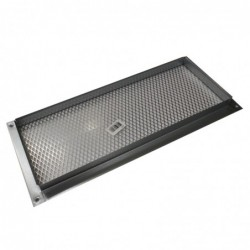 14x6in Galvanized Foundation or Soffit Vent - V27