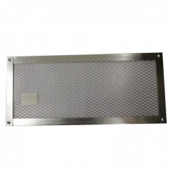 14x6in Galvanized Foundation or Soffit Vent Flat - V27F