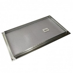 14x8in Galvanized Foundation or Soffit Vent - V26