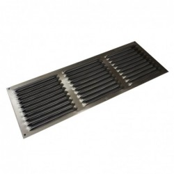 16X6in Aluminium Louver Screen Vent