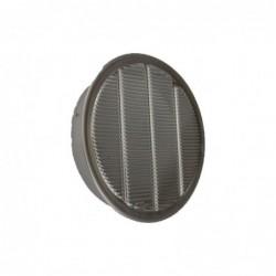 2in Aluminum Midget Louver Circle Vent