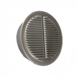 4in Aluminum Midget Louver Circle Vent