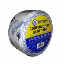 1 7/8in x 167ft Barricade Construction Seam and Seal Tape