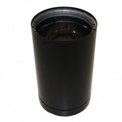 Dura Pipe 6x12 Black Double Wall