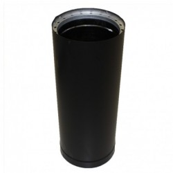 Dura Pipe 6x18in Black Double Wall