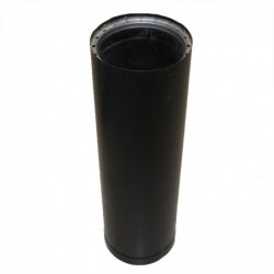 24in Double Wall Black Pipe