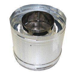 6in diameter x 9in height Chimney Section