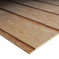 4x9 5/8in Select Douglas Fir 12in on center Reverse Batten Resawn Siding