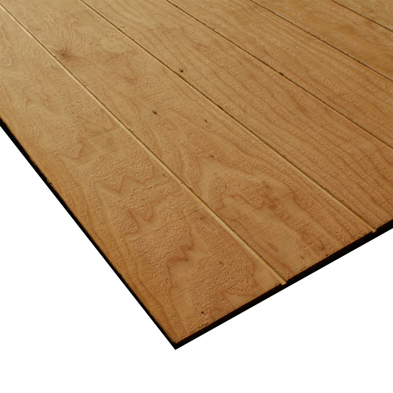 4X9 5/8in SELECT DOUGLAS FIR 8in ON CENTER REVERSE BATTEN RESAWN SIDING