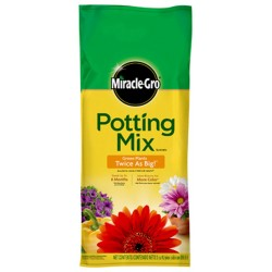 2 CUFT Potting Mix Plus Miracle-Gro Plant Food