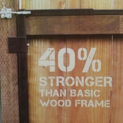 Adjustable Gate Frame Kit 2-ft to 4-ft 3-in