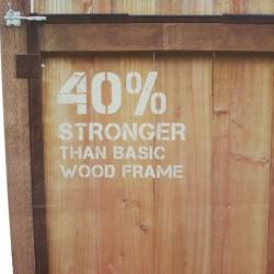 Adjustable Wide Gate Frame Kit 4-ft to 7-ft