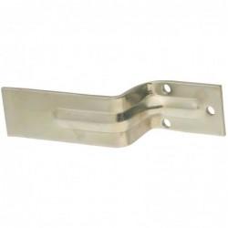 Zinc Open Bar Holder for Barn Door