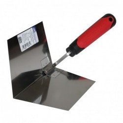 4-in x 5-in Inside Corner Trowel with Soft Grip Handle