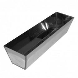 """14"""" Heli-Arc Stainless Steel Drywall Mud Pan"""