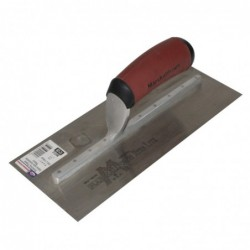 11-in x 4-1/2-in Finishing Trowel Curved with DuraSoft Handle