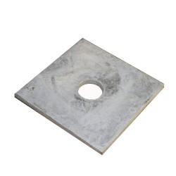 "3"" x 3"" x 5/8"" Galvanized Square Washer Plate"