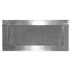 Vulcan Vent 14x6in Fire Resistant Galvanized Foundation or Soffit Stucco Vent  - VFS614S