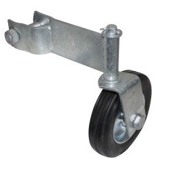 6in Swivel Wheel for 1-5/8in Swing Pipe Gate