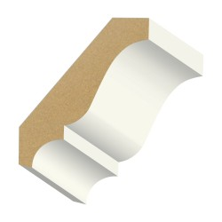 Kelleher 9/16x2-3/4in Primed MDF Crown