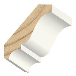 Kelleher 9/16x2-3/4in Primed Crown Moulding