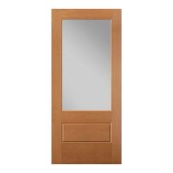 VistaGrande 3/4 lite Fiberglass Doors – Fir Texture