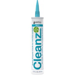 10.5oz Cleanz® White Active Enzyme Caulk