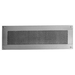 Vulcan Vent 14x4in Fire Resistant Galvanized Foundation or Soffit Vent - VFS414S