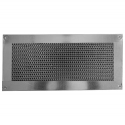 Vulcan Vent 14x6in Fire Resistant Galvanized Foundation Flange Face Vent - VFS614FF