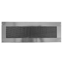 Vulcan Vent 14x4in Fire Resistant Galvanized Foundation or Soffit Vent Flange Face - VFS414FF