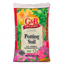G&B Organics 2 CUFT Indoor and Outdoor Potting Soil