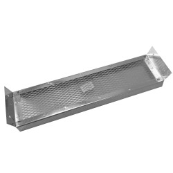 14 x 3-1/2in Galvanized Steel Rafter Vent - V244