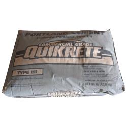 94LB Portland Cement Quikrete Commercial Grade Type I/II