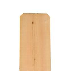 1x12 6ft Incense Cedar Fence Picket Board Dog-Ear